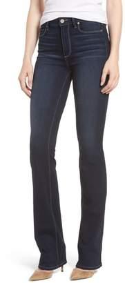 Paige Transcend - Manhattan High Waist Bootcut Jeans