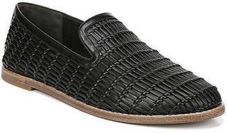 9517b722044 Vince Jonah Flat Woven Leather Loafers