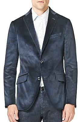 Etro Men's Printed Cotton Sportcoat
