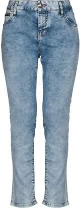 Philipp Plein Denim pants - Item 42726009LC