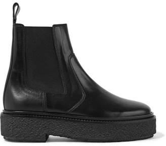 Isabel Marant - Celton Leather Chelsea Boots - Black $645 thestylecure.com