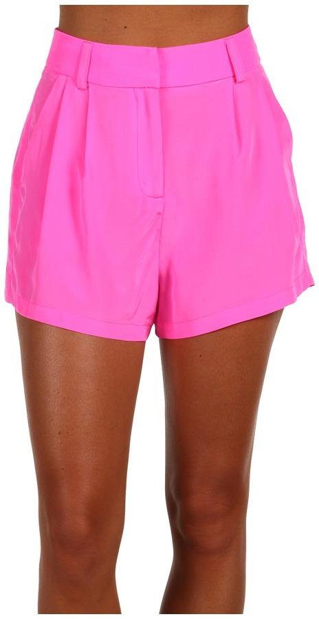 Mara Hoffman - High Waisted Short (Hot Pink) - Apparel