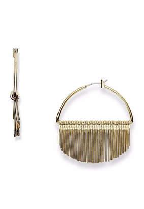 Fossil Fringe Hoop Earrings