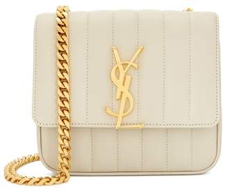 Saint Laurent Vicky Small Leather Shoulder Bag