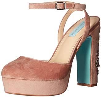 Betsey Johnson Blue by Women's SB-Alana Heeled Sandal