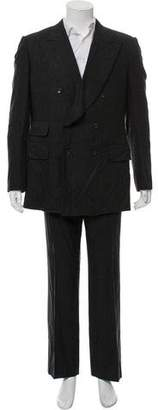 Gucci Double-Breasted Wool Two-Piece Suit