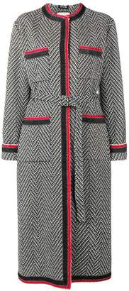 Gucci chevron tweed coat