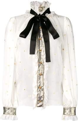 Dolce & Gabbana embellished victorian shirt