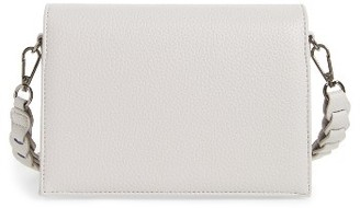 Street Level Braided Handle Crossbody Bag - Grey $48 thestylecure.com