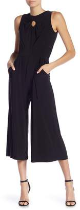Gabby Skye Sleeveless Front Keyhole Jumpsuit