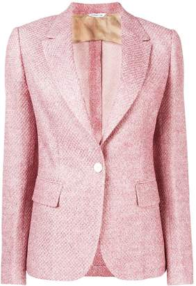 Tonello one-button fitted jacket