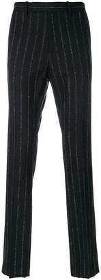 Theory striped Zaine trousers