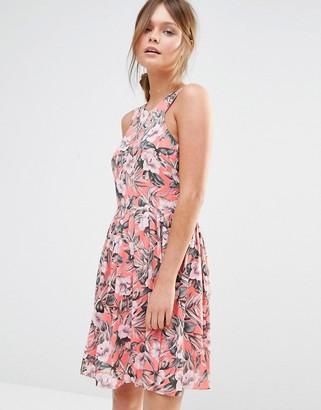 Oasis Tropical Floral Sundress $81 thestylecure.com