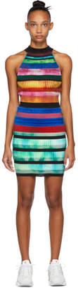 Agr AGR SSENSE Exclusive Multicolor Halter Dress