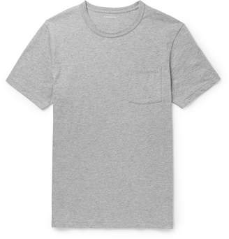 J.Crew Slim-Fit Garment-Dyed Mélange Cotton-Jersey T-Shirt