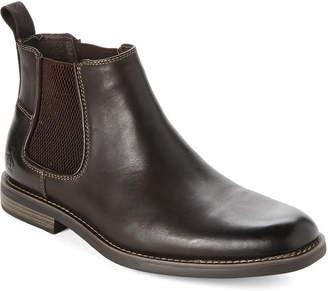 Original Penguin Brown Hayden Leather Chelsea Boots