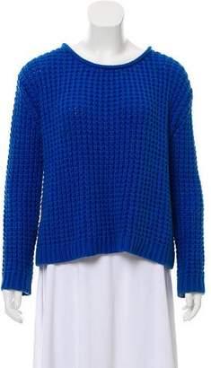 Acne Studios Open Knit Long Sleeve Sweater