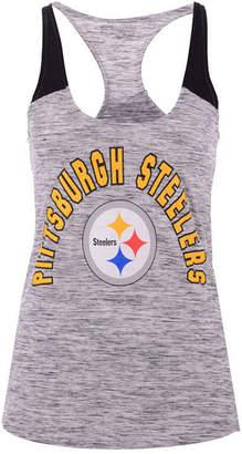 5th & Ocean Women's Pittsburgh Steelers Space Dye Tank