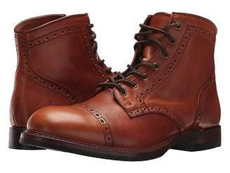 Frye Logan Brogue Cap Toe Men's Lace-up Boots