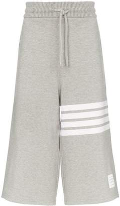 Thom Browne 4-bar oversized cotton shorts
