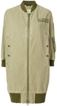 R 13 multi pocket zipped up jacket