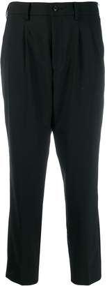 Zucca cropped tapered trousers