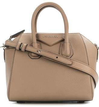 Givenchy nude mini Antigona sugar leather tote