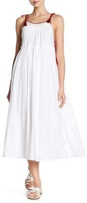 Velvet by Graham & Spencer Poppy Tassel Midi Dress