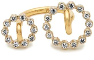 Charlotte Chesnais FINE JEWELLERY System diamond & yellow-gold ring