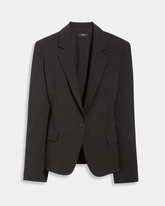 Theory Stretch Wool Gabe Jacket