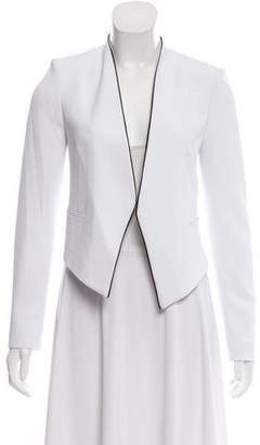 Alice + Olivia Cropped Knit Blazer