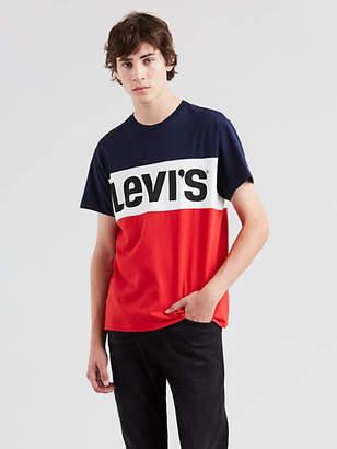 Levi's Short Sleeve Colorblock Tee Shirt T-Shirt