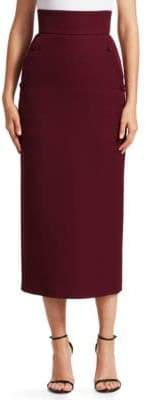 Sara Battaglia Full-Length Pencil Skirt