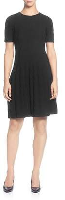 Catherine Malandrino Fit-and-Flare Sweater Dress