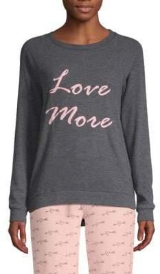 ... Graphic Long-Sleeve Pajama Top 1f745c391