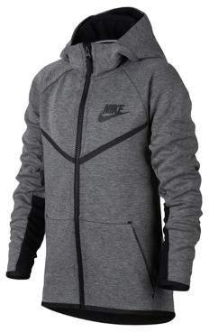 Nike Boys Sportswear Tech Fleece Windrunner Hoodie