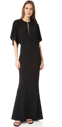 Norma Kamali Obie Gown $550 thestylecure.com