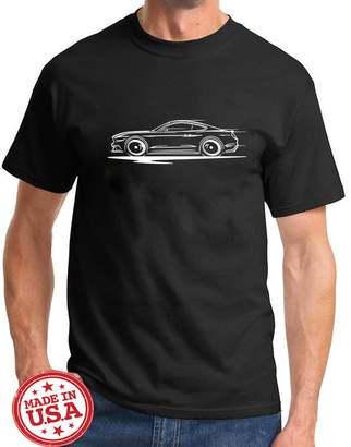 Redline Maddmax Design 2015-17 Ford Mustang GT 5.0 Coupe Series Outline Design Tshirt 2XL