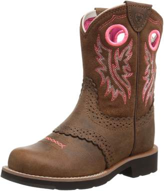 Ariat Kids' Fatbaby Cowgirl Western Boot (Little Kid/Big Kid)