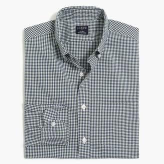 J.Crew Gingham slim flex casual shirt