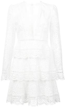 Zimmermann longsleeved tiered dress