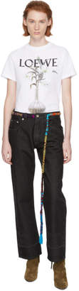 Loewe Black Embroidered Knot Jeans