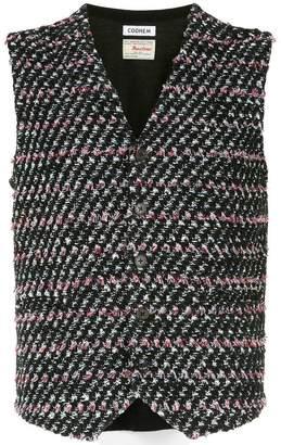 Coohem tweed waistcoat