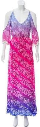 Calypso Patterned Maxi Dress