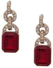 Ralph Lauren Faceted Crystal Drop Earrings