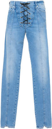 Dondup Lace Up Jeans