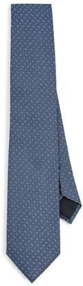 HUGO BOSS Geometric Micro Print Tie