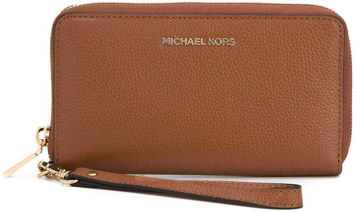 MICHAEL Michael KorsMichael Kors wrist strap logo wallet