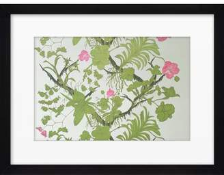 Artfully Walls Vines and Flowers by Ayala Budarkevich Framed Graphic Art