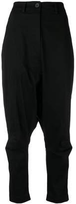 Rundholz Black Label drop-crotch trousers